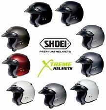 Shoei RJ Platinum-R Open Face Helmet DOT SNELL M2015