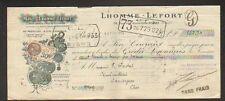 """PARIS (XIX°) MASTIC pour ARBORICULTEUR """"LHOMME & LEFORT"""" 1932"""