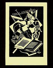 Ex libris bookplate * vaclav ondrej * Napoleón Hermes