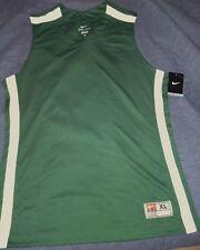 Nike Madness Basketball Game Training Jersey Mens SZ M XL 392906-342 Green  White 9e674ba43