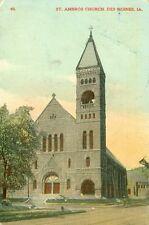 Des Moines,IA. St. Ambros Church