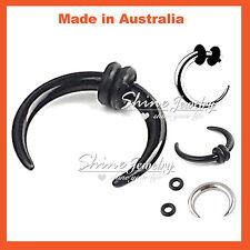 8mm 10mm 12mm 14g & 16g Buffalo Pincher Awl Horseshoe Septum Ear Ring Piercing