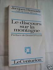 """""""LE DISCOURS SUR LA MONTAGNE"""" J. HAMAIDE (1973)"""