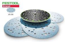 Festool 150 150mm Discos de lijado Granat Jetstream 48l P40 hasta P1500