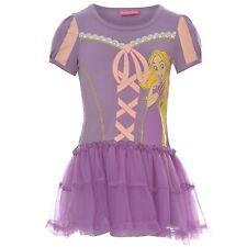 DISNEY robe déguisement RAIPONCE 2-3 ou 5-6 ans violette Princesse NEUVE