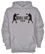 Felpa con cappuccio Sport hoodie KP39 Boxe Boxeur Noble Art Italia Pugilato