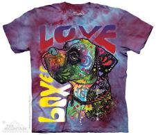 BOXER DOG T Shirt The Mountain Rescue Puppy Pet Russo Art Love Tee S-3XL 4XL 5XL