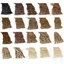 Clip In Set 7 Tressen Haarteile 70g 80g Remy Echthaar Extension Haarverlängerung