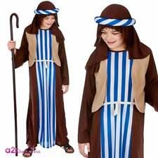 Boys Joseph Shepherd Inn Keeper Nativity Christmas Kids Fancy Dress Costume