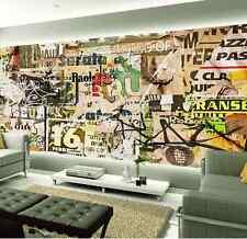 Papel Pintado Mural De Vellón Pared De Cartel Agrietado 1 Paisaje Fondo Pantalla