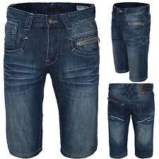 Designer Herren Jeans Shorts Herren Bermuda Jeanshose Herren Short H-068 W28-W38