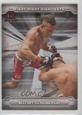 2014 Topps UFC Champions #FNHA-VB Vitor Belfort Dan Henderson MMA Card