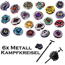 ZUFALL 6er -Sets Kreisel für Beyblade Metal Fusion Arena Beyblades 4D Galaxy