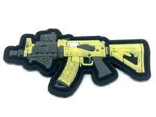 Various Machine Gun Assault Airsoft Rifle Morale PVC Fan Patch