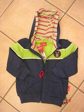 Sweat-Shirt Jacke mit Kapuze von Sigikid. Doppelte Baumwolle. NEU!