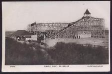 Lincs SKEGNESS Figure 8 Railway Funfair RP PPC 1909