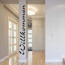 Wandtattoo Willkommen Flur Eingang Diele Wand Aufkleber Wall Sticker 27788a