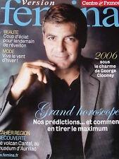 Georges Clooney, Christine Haas, Version Fémina de 2006