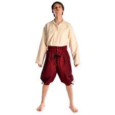 Piratenhose aus Baumwolle - Korsarenhose Schnürung an Wade   Mittelalter Hose
