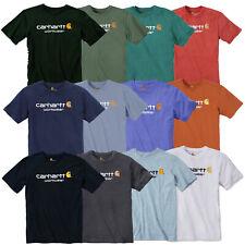 Carhartt Camiseta t-Shirt Core Logo 100% Algodón Alta Calidad NUEVO S M L XL XXL