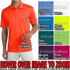 Mens Dri Fit Performance Moisture Wicking Polo Shirt XS, S, M, L, XL, 2X, 3X, 4X