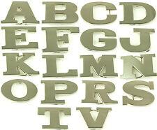 "Alphabet Initial Metal Belt Buckles ""A,B,C,D,E,F,G,J,K,L,M,N,O,P,R,S,T,V"""