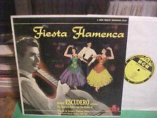 MGM FIESTA FLAMENCA MARIO ESCUDERO GUITARIST CHIQUITO DE LEVANTE FLAMENCO SINGER
