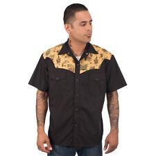 Steady Clothing vintage rockabilly retro Western camisa camiseta-tatuaje Flash