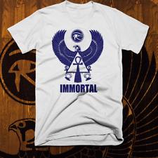 Egyptian T-Shirt Ancient Egypt Hieroglyphics Kemetic Falcon God Immortal