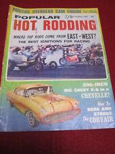 POPULAR HOT RODDING - CORVAIR - Sept 1965 vol 4 #9