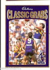 CADBURY AFL CARD #23 - JASON BALL, WEST COAST