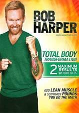 Bob Harper: Total Body Transformation (DVD, 2011)
