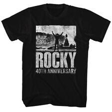 Rocky Mgm Movie 40Th Anniversary Adult American Classics T-Shirt Tee