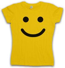 SMILE HAPPY DONNA T-shirt emojis SMILE EMOTICON SMILE Watchmen THE Cleese