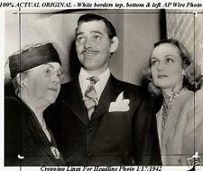 ORIGINAL AP Wire Photo Announcing Carole Lombard Tragic Plane Crash Death
