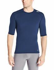 Adidas Men's Training Techfit Base Shirt, Collegiate Navy