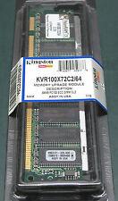 Kingston kvr100x72c2/64 (64 Mb, SDRAM de 100 MHz)