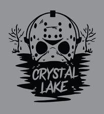 Crystal Lake shirt Friday the 13th movie Jason Voorhees t-shirt slasher camp