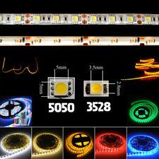 ultra bright 5m 3528/5050 smd 300 led light strip flexible 12v 2a power party 0