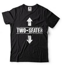Two Seater Funny shirt Mens Funny shirt Two-Seater humor tee shirt Gift shirt