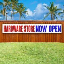 Hardware Store Now Open Advertising Vinyl Banner Flag Sign Large Huge Xxl Size