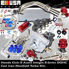 97-01 Honda Civic Type R JDM 1.6L DOHC VTEC I-4 185HP Precision 5431 Turbo KitsB