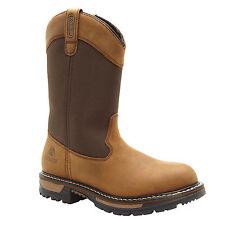 "Rocky Ride Men's 10"" Insulated Waterproof Wellington Work Boots-2867"