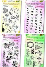 20 Variostempel abziehbare Stempelmotive Stempelplatten Stempel wählbar