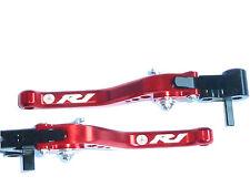 Yamaha R1S R1 R1M 2015 2017 frein & embrayage rouge court leviers set route course piste