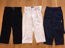 POLO RALPH LAUREN boy's pants corduroy Andrew  black navy 9M 12M 3T NWT infant