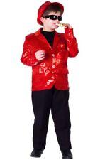 Dress Up America Kids Unisex Red Sequined Blazer Size S-XL