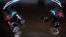 Bicon Pure Silver XLR - XLR cable 0,5m - 1,5m pair
