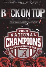 Back on Top: University of Alabama Football 2009 Game & Season Highlights, Accep