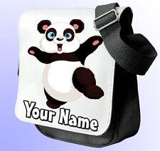 Panda Personalizado De Hombro/Bolso de mano * De los 2 Colores para Elegir * llamado Regalo!!!